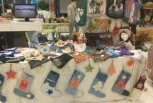 Marché de Noël 2015 / Aperçu de mon stand marché de Noël avec pleins de nouveautés.