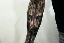 Wolf leg ideas.