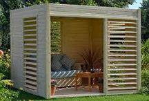 cabane en bois jardin