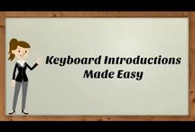 Keyboard Learning Tutorials / Learning the keyboard is fast, easy and fun and FREE at www.simprov.biz. Enjoy these easy to follow video tutorials and learn more about piano and keyboard courses here http://www.simprov.biz/courses.html .