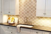Backsplash / by Amanda Ebel