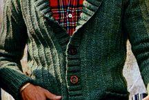 Men's knitting