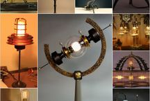 lampes industrielle steampunk