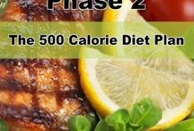 HCG phase 2 recipes / by Amber McClain