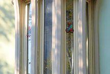 balkony and windows