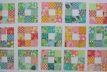 Quilting - Nine patch quilts