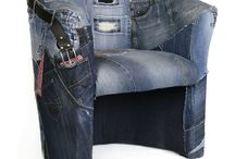 jeans nábytok