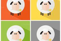 Wolven en schapen-spel