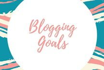 Blogging goals / Wanna know how to grow your blog with some actually goals...