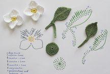 λουλούδια βελονάκι