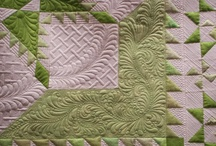 Free Motion Quilting / There's quilting and then there is free motion quitling. We've been amazed how many beautiful free motion patterns we have found on Pinterest. Be inspired with us.