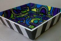 Good Life Pinturas / Pinturas sobre bastidores, muebles, objetos...