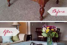 Furniture redo's / by Bethany Branch-Erby