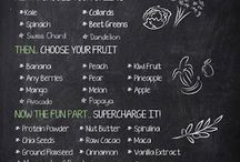 Recipes: Smoothies / I like to blend it, blend it! Shakes & smoothies.