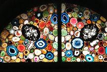 Kunst: Fensterscheiben