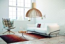 Lámparas de techo / Decoración y ambientes para lámparas de techo. #decoración #hogar #iluminashop