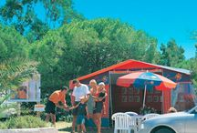 2000's Canvas Holidays / In the early 'noughties', Canvas Holidays upped the luxury camping stakes with the introduction of new Select mobile homes featuring all the mod cons. Who said camping had to be uncomfortable?! 2007 saw the introduction of the first wooden lodges at Camping la Croix du Vieux Pont, Berny Riviere. Super cute and fully heated, real luxury camping has firmly arrived!