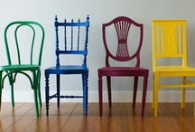 Dining room chairs / by Trixie Kennedy