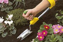 Ergonomie in de tuin / Hulpmiddelen en gereedschap voor tuinieren met lichamelijke beperkingen