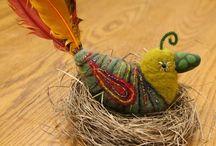 Birds - Felt, Fabric & Beyond / by Suzane Rowland
