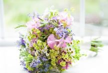 Brides Bouquets / Bridal bouquets made with natural, seasonal British flowers