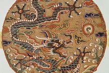 Dragon - Thangka