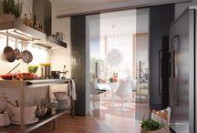 Glazen schuifdeuren / Inspiratie voor glazen schuifdeuren