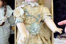 Beautiful antique dolls