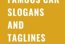 Famous Car Slogans And Taglines