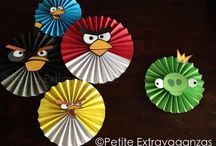 angry bird cumple ideas