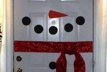 karácsonyi hó ember