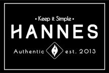 Label Hannes / Example Label Hannes -Keep it Simple-