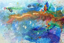 Robbi Wymer / Paintings of Robbi Wymer - practicing visual artist, registered Art therapist, arts worker and art educator.