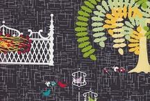 Fabric Inspiration / by Jennifer Brown