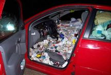 Show us Your Car Clutter! We'll help you organize! / Car clutter getting out of control? Show us your messy car and we'll tell you how we can help!