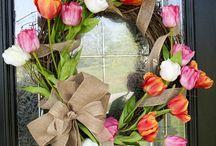 Wreaths / by Crystal Terrell