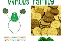 St Patrick's Day / Lots of fun ideas for St Patrick's Day Food, DIY, & Crafts