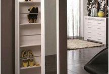 Shoe glass door  cabinets
