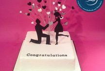 Engagement Cake / Engagement cakes