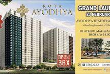 Kota Ayodhya Alam Sutera / Kota Ayodya new super block residences at Tangerang by Alam Sutera.