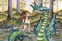 sirenas y dragones