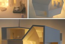 student architecture model interior design