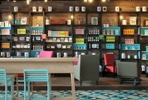 Commercial Architecture | Coffes & Restaurants / by Bia Meunier