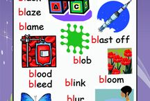 Initial Consonant Blend Posters