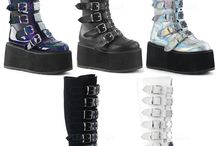 Hologram Boots and Shoes / Hologram Footwear