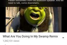 Shrek the green ogre / green ogres and other green ogres