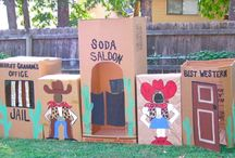 cowboy birthday party ideas / by Sassafras Anne