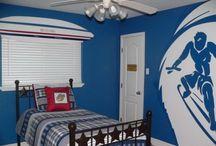 Boys rooms / Create Boys Room Paint Ideas