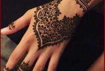 Henné mains