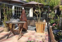 Our garden at the Casa Miquell / Bouwen tuin